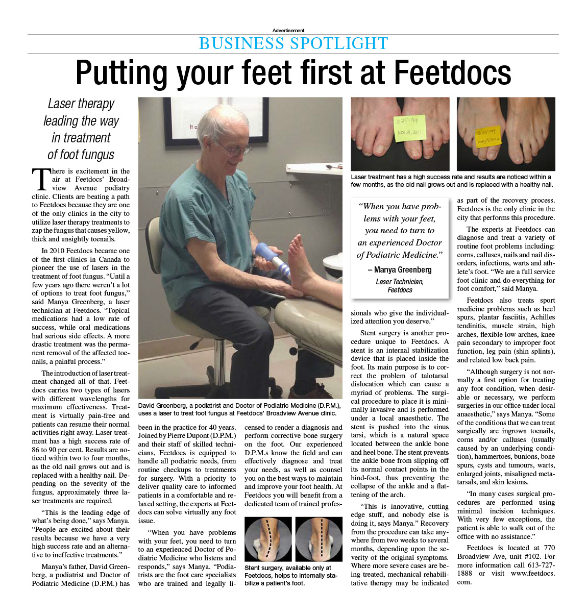 Feetdocs---Ottawa-Citizen-(2)-Advertorial